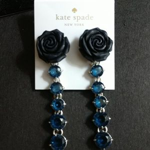 "KATE SPADE PRETTY ""ARTISNAL ROSE"" EARRINGS NWT!!"